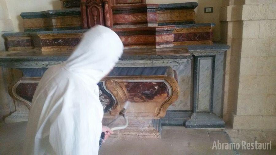 Restauro Chiesa Madre Melilli Sr 1