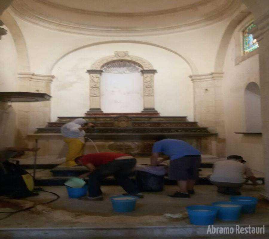 Restauro Chiesa Madre Melilli Sr 2