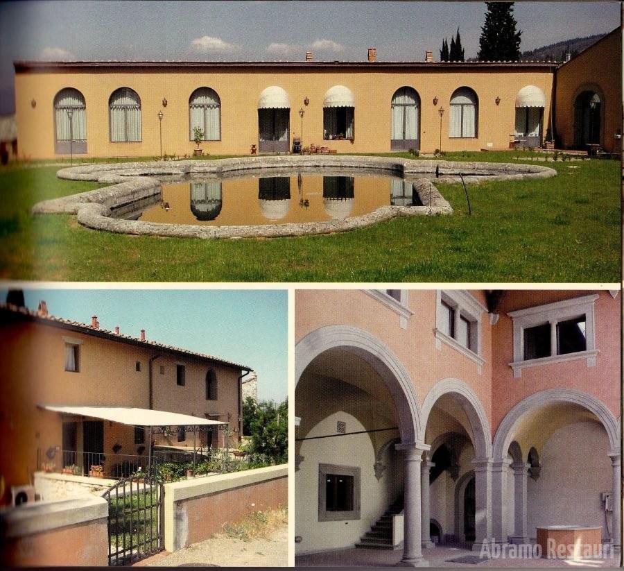 Villa Peruzzi Firenze Restauri Rifacimenti edilizi