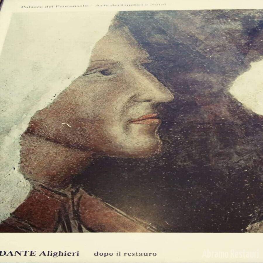 Palazzo Giudici e Notai Firenze Volto di Dante Dopo il Restauro