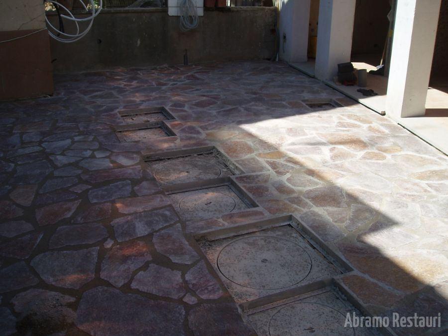 Via dei Sabatelli Rifacimento pavimenti in pietra 1