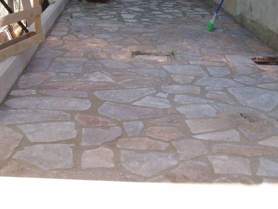 Via dei Sabatelli Rifacimento pavimenti in pietra 3