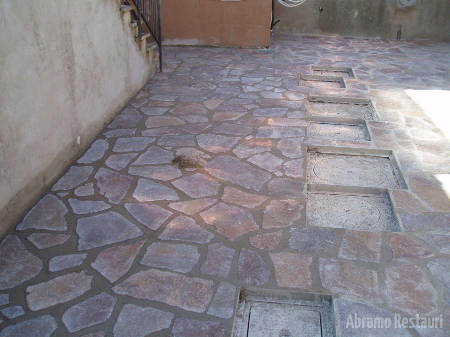 Via dei Sabatelli Rifacimento pavimenti in pietra 32