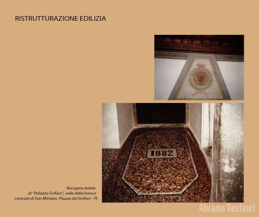 San Miniato di Pisa - Restauri Architettonici 1
