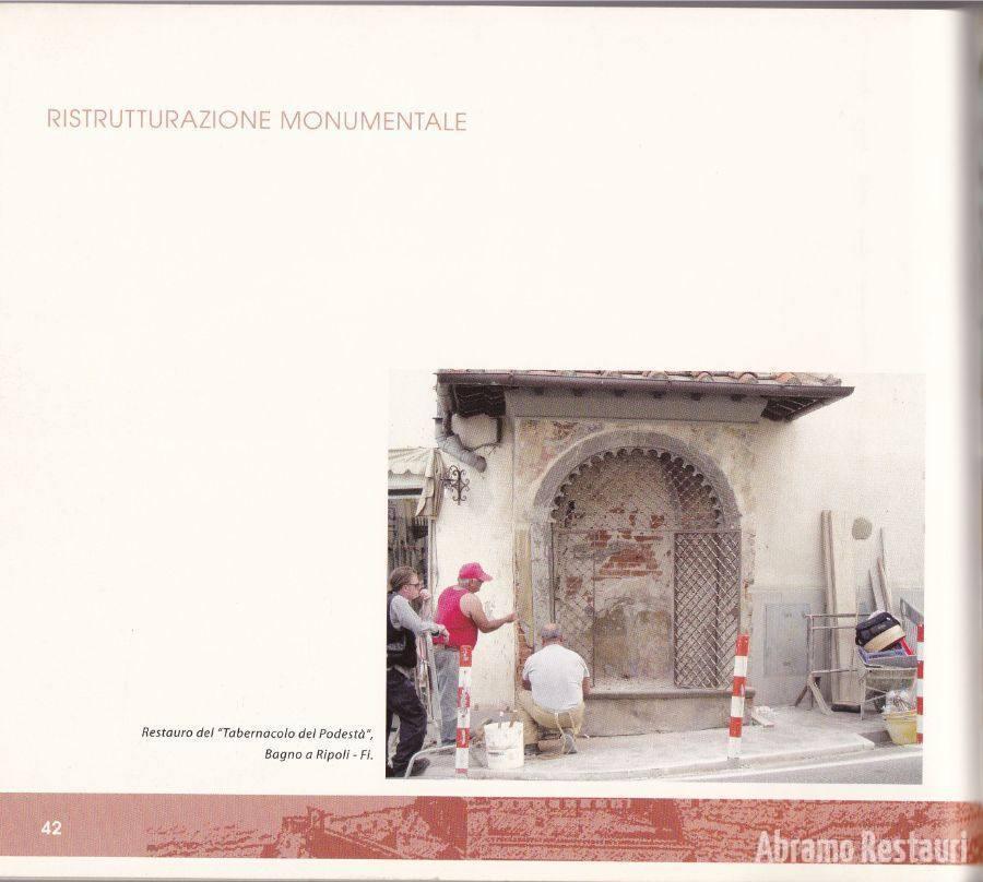Tabernacolo Bagno A Ripoli (Firenze) - Restauri di Risanamento Conservativo 1