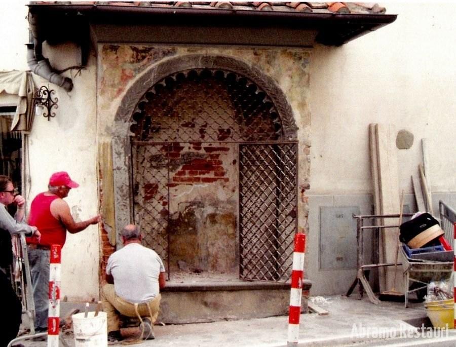 Tabernacolo Bagno A Ripoli (Firenze) - Restauri di Risanamento Conservativo 3