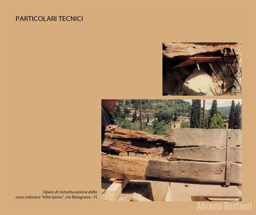 Villa irpino - Firenze - Lavori di Risanamento 3