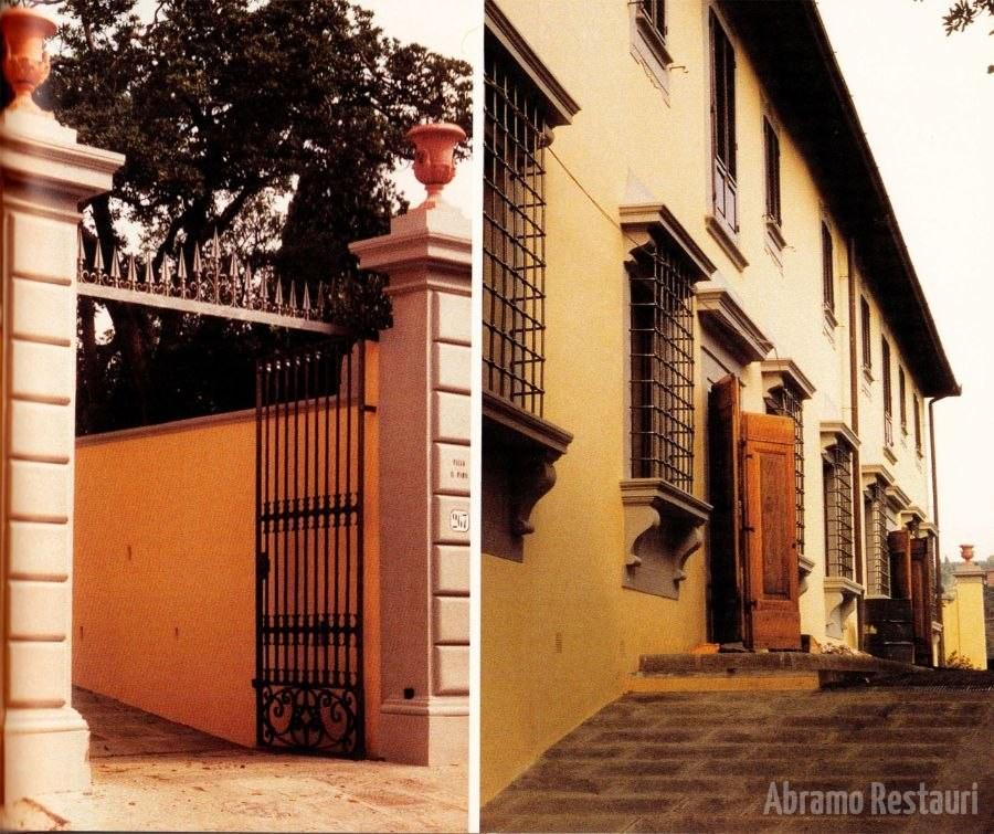 Villa irpino - Firenze - Lavori di Risanamento 8