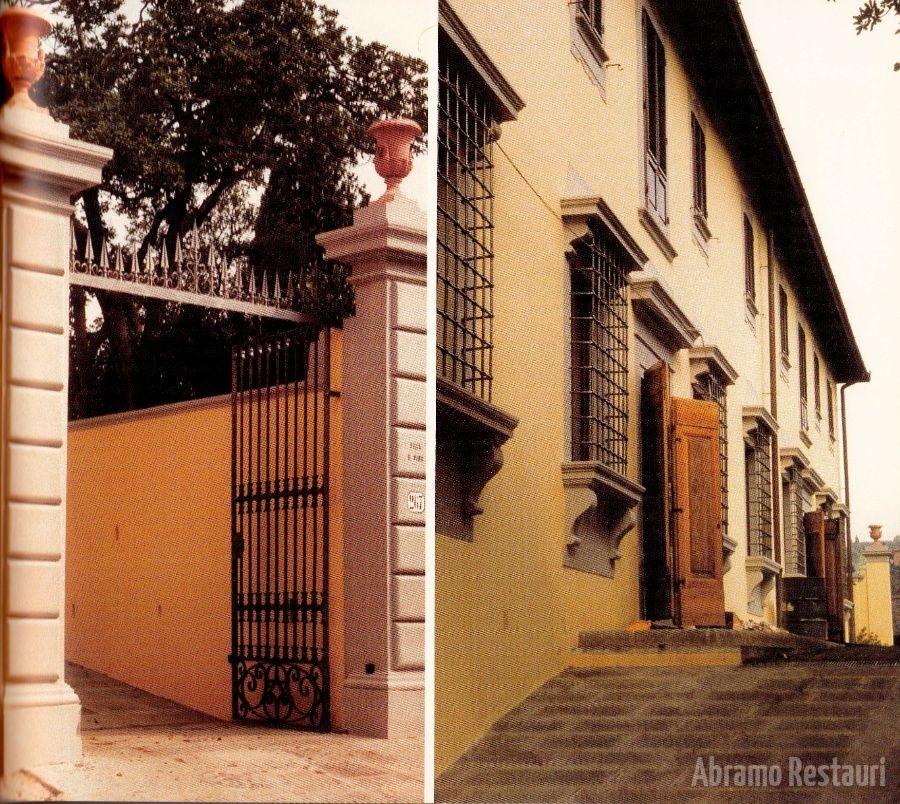 Villa irpino - Firenze - Lavori di Risanamento 9