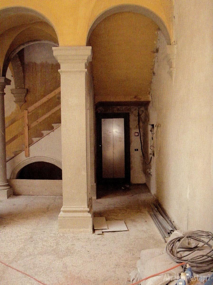Villa Peruzzi Firenze - Restauri rifacimenti edili 1