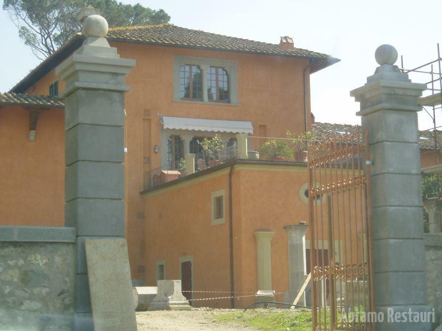 Villa Peruzzi Firenze - Restauri rifacimenti edili 141