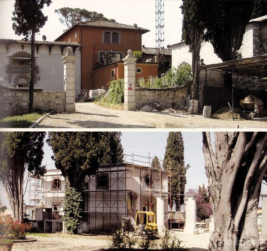 Villa Peruzzi Firenze - Restauri rifacimenti edili 2